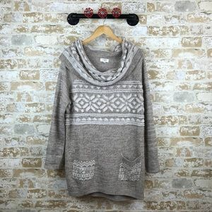 Umgee embroidered oversized sweater